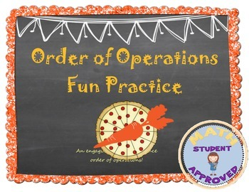 Order of Operation Fun & Engaging Activity (Notes and Practice)