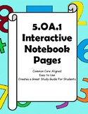 Order of Operation Interactive Notebook Pages