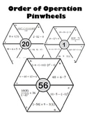 Order of Operation Pinwheels Activity