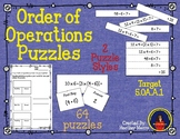 Order of Operation Puzzles