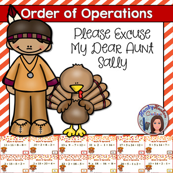 Order of Operation Thanksgiving