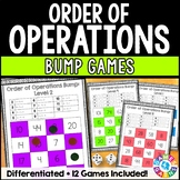 Order of Operations Games: 12 Differentiated Order of Oper