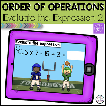 Order of Operations 2 Boom Cards