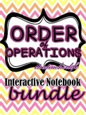 Order of Operations Interactive Notebook