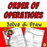 Order of Operations Coloring