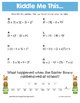 Easter Order of Operations Math Riddles