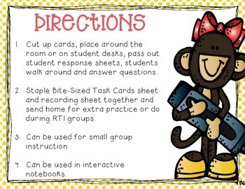 Order of Operations:  3 Operations (Add, Subtract, Multiply) Tiny Task Cards