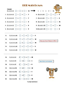 Order of Operations: Activities Compilation