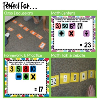 Order of Operations Activity