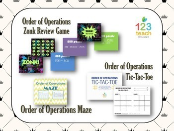 Order of Operations Activity Bundle!