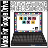 Order of Operations Activity | Digital Version | Distance
