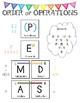 Order of Operations Anchor Chart (PEMDAS)