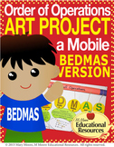 Order of Operations - BEDMAS - Hands On ART PROJECT