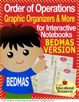 Order of Operations - BEDMAS - Interactive Notebook, Graph
