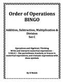 Order of Operations BINGO - (Set C)