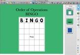 Order of Operations BINGO for Smartboard