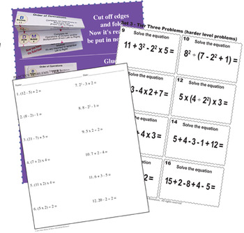Order of Operations - BODMAS - BUNDLE of Engaging Lessons, Tasks, & MORE