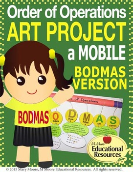 Order of Operations - BODMAS - Hands On ART PROJECT