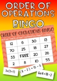 Order of Operations (BODMAS, PEDMAS) Bingo