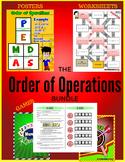 Order of Operations BUNDLE (Games, Activities, Posters & Worksheets) #DollarDeal