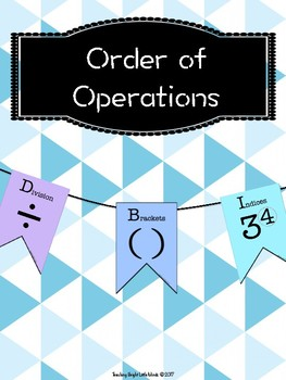 Order of Operations Banner