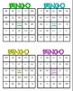Order of Operations Math Bingo - Math Review Game