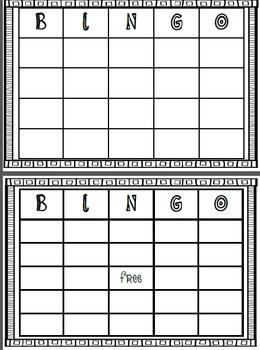 Order of Operations - Bingo