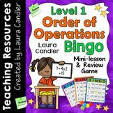 Order of Operations Game | Math Bingo | Level 1