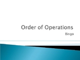 Order of Operations Bingo (part2)