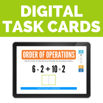 Order of Operations Boom Cards