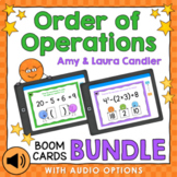 Order of Operations Boom Cards Bundle (with Audio Options)