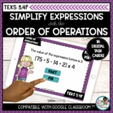 Order of Operations | Boom Cards Math Distance Learning