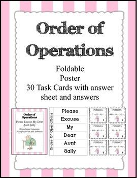 Order of Operations Bundle