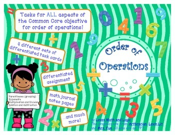 Order of Operations Bundle_5th Grade
