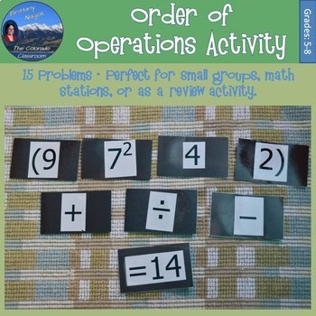 Order of Operations Bundle