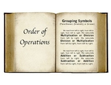 Order of Operations (CCSS 5th grade)