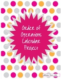 Order of Operations Calendar Project