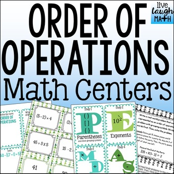 Order of Operations Activities