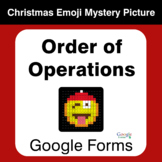Order of Operations - Christmas EMOJI Mystery Picture - Go