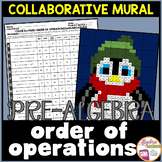 Order of Operations Winter Math Collaborative Mural