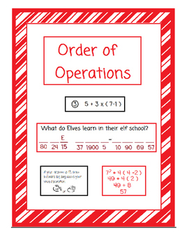 Order of Operations-Christmas Themed Activities