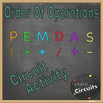 Order of Operations Circuit Activity