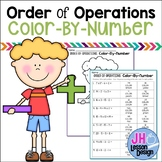 Order of Operations Color-By-Number