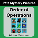 Order of Operations - Color-By-Number Mystery Pictures - P