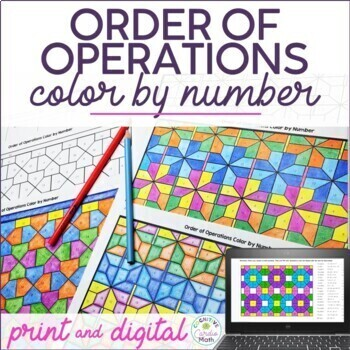 Order Of Operations Worksheets Teachers Pay Teachers