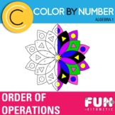 Order of Operations Color by Number