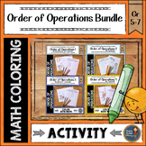 Order of Operations Color with Math Bundle