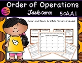 Order of Operations Task Cards 5.OA.1