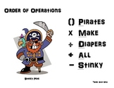Order of Operations - Common Core Pirate Style Pack