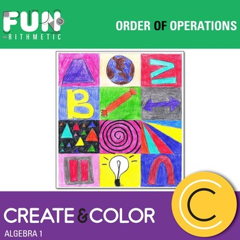 Order of Operations Create and Color
